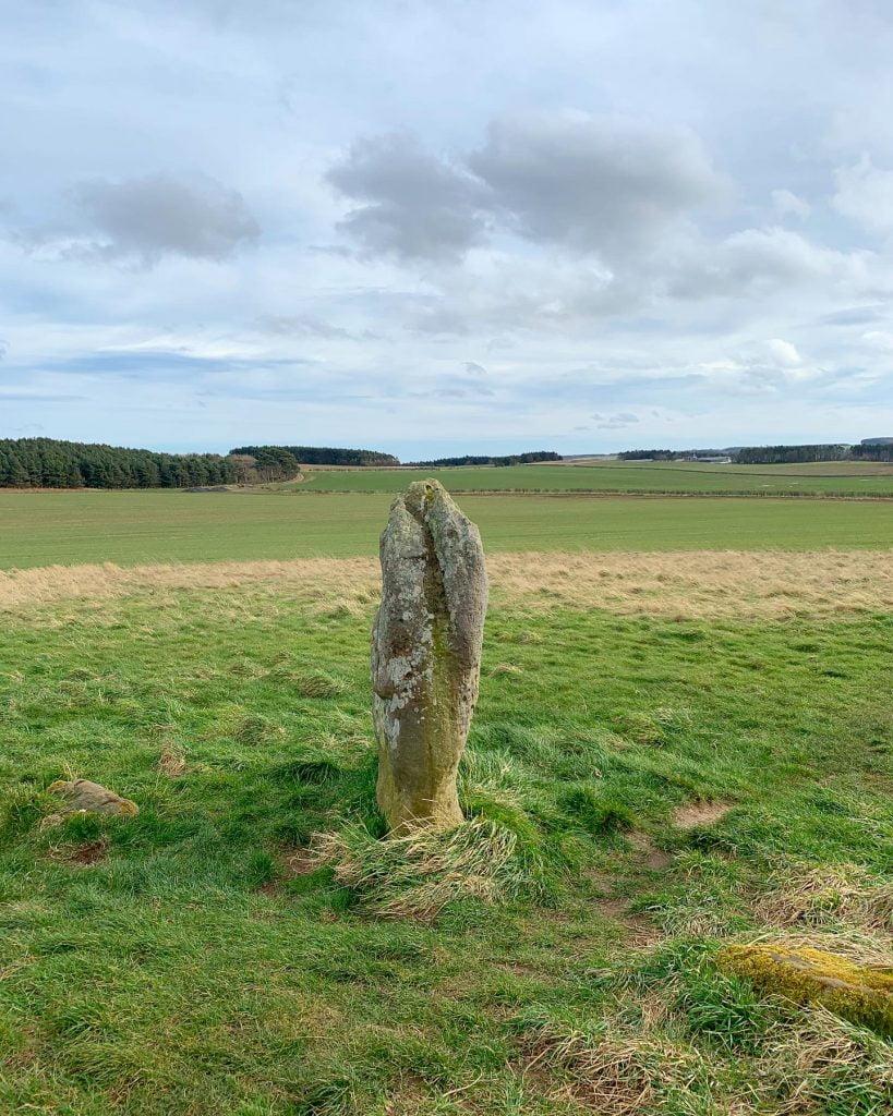 One of the Duddo Five Stones / Duddo Stone Circle
