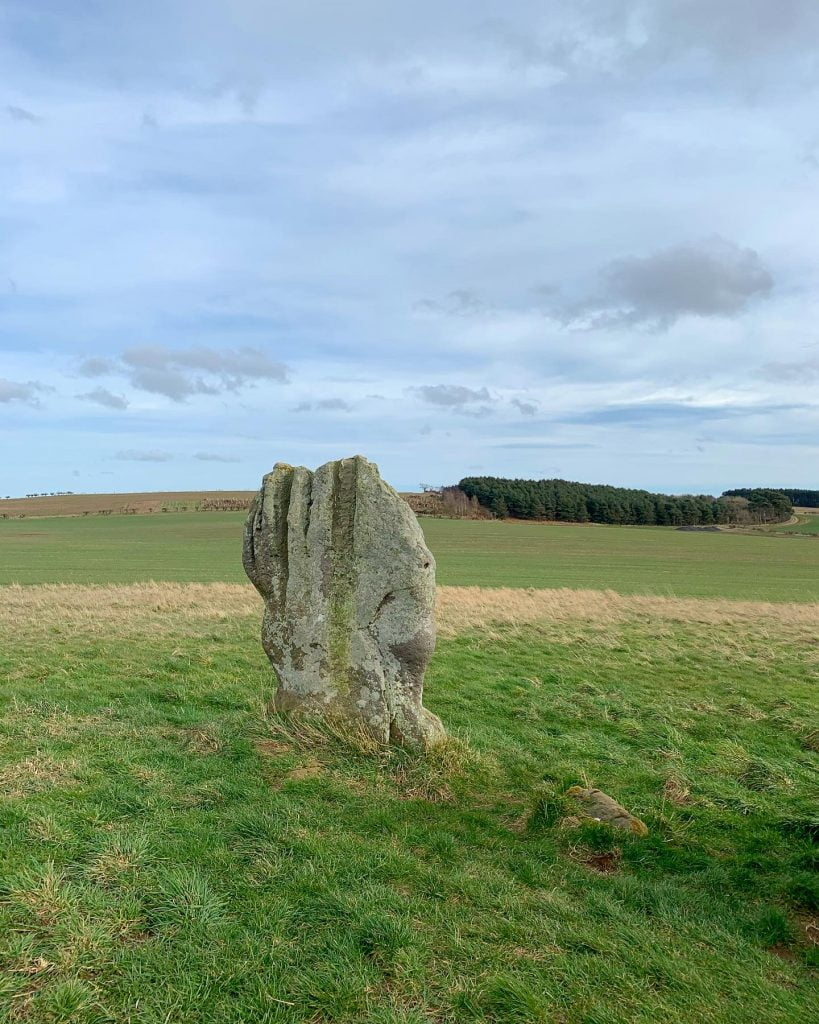 One of the Duddo Five Stones / Duddo Stone Circle
