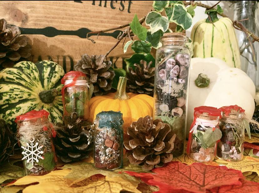 Seasonal Spell Bottles