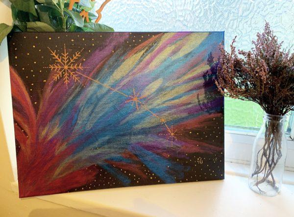 Aries Constellation Canvas Art