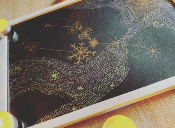 Taurus Constellation Metallic Art
